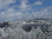 Ligonier in the snow