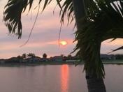 Sunset in Vero