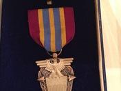 Veteran finds prestigious merit award