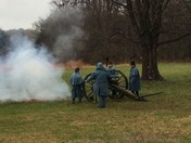 Cannon Fired at Pea Ridge Natl. Park