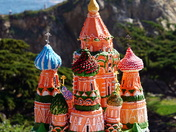 3D St. Basil Cathedral Wedding Cake
