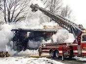Stowe House Fire