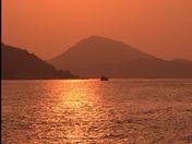 Sun rise Hong Kong