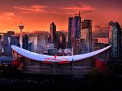 Calgary Skyline @ Sunset
