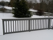 Snow in Fallston