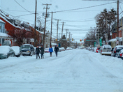 Snow cleanup northern lancaster city