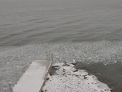St. Lawrence River in March