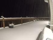 Snowstorm time-lapse