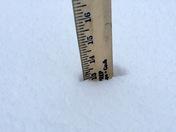 Snow in Dannemora