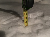 34 inches and counting!