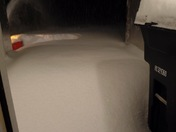 2017 blizzard in Mooers my in front of my door