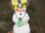 My Little Leprechaun Snowman