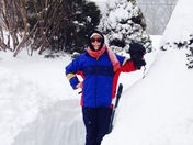"""36"""" of snow in Wayne County Pa"""