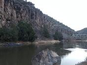John Dunn Bridge on the Rio Grande near Arroyo Hondo, NM