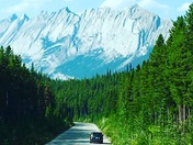 Travelling to LakeLouise