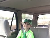 Can't find anything else green to wear to school @ Bradshaw Christian!