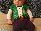 Ryder' s first St. Patrick's Day