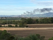 Fire in salinas