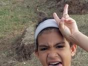 Jackrabbit Selfie!