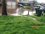 Flooding shell St n. Highlands