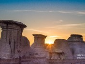 Hoodoos Sunset