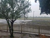 In Hughson, Raining Really Bad