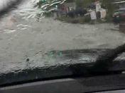 Flooding along Antelope Rd