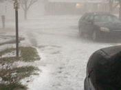 Hail in Greer