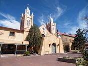 Sunny Old Town Albuquerque