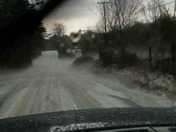 Hail in Blue Ridge