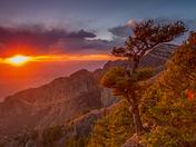 Sandia Crest Sunset
