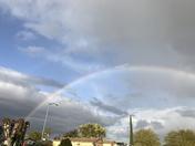 Rainbow in Manteca Ca