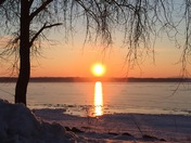Thursday morning sunrise