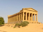 Temple in Sicily