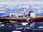 Canadiann Coast Guard Icebreaker Franklin 1980