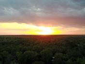 Sunset over Belleview Florida