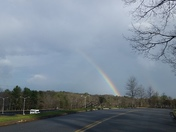 Rainbows over Greenville