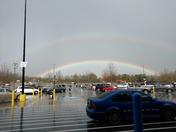 Double rainbow over Central