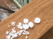 Hail storm in Radcliff