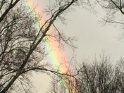 Rainbow after a Thunderstorm in Thurmond