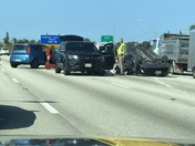 Accident NB 95, Exit 64 off ramp. 1600 hrs