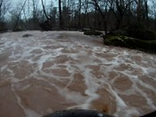 Brownwater Kayaking on the Conewago creek at Aberdeen Mills