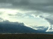 Sandia clouds
