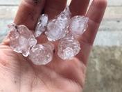 Hail in Olathe, KS