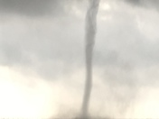 Water spout over lake Ponchartrain just south of twin spans