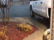 Hail in Simpsonville