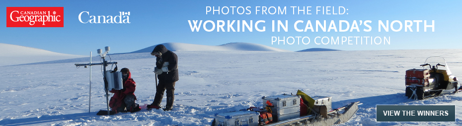 Working in Canada's North Photo Competition Winners