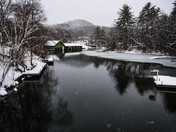 Spring Snow brings beauty to New Hampshire