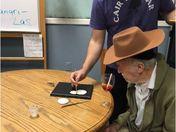 Volunteer Puts his Heart into Art!