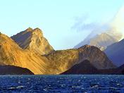 Sun on Baffin Island